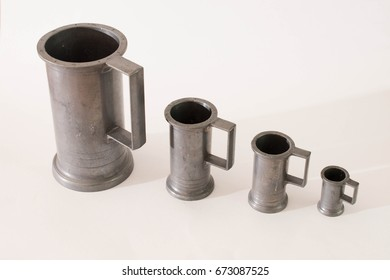 Antique cups for beer