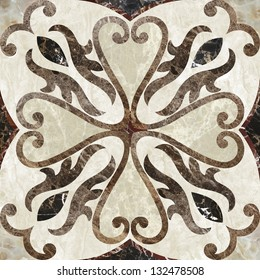 Antique, decor for floor or wall