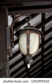 antique decorative lights on the wall