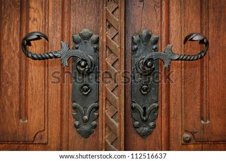 Antique door handles - Antique Door Handles Stock Photo (Edit Now) 112516637 - Shutterstock