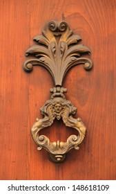 Antique door knocker (Italy)