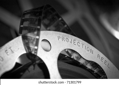 Antique Film Projection Reel