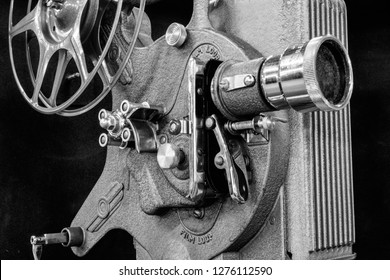 Antique Film Projector - Antique Film Projector from the 1920s or 1930s