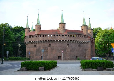 Antique fort in Krakow Poland