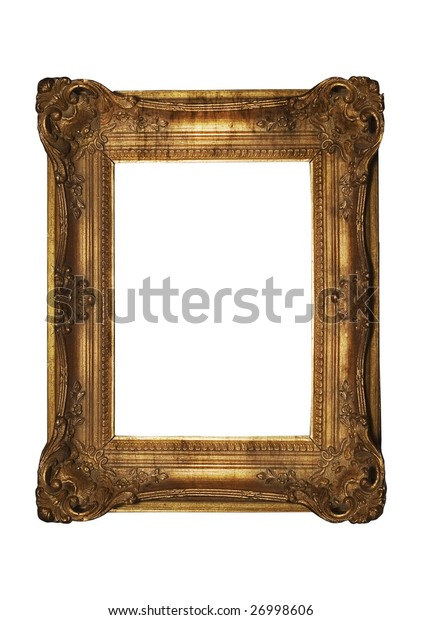 Antique Frame - dirty, aged and grungy