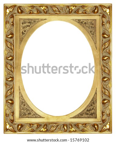 Antique Gilded Frame More Frames My Stock Photo (Edit Now) 15769102 ...