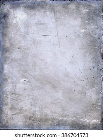 Antique glass plate negative
