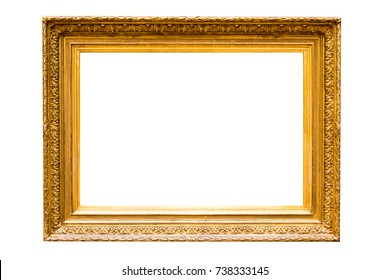 Antique Gold Picture Frame XXXL