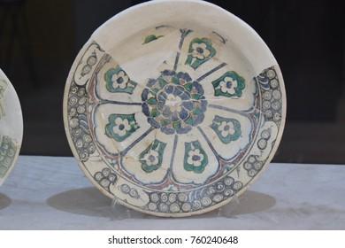 Antique greek antique dishes