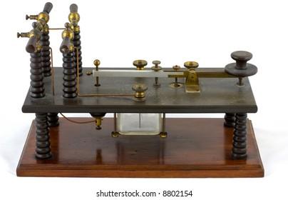 Antique High Voltage Morse Key