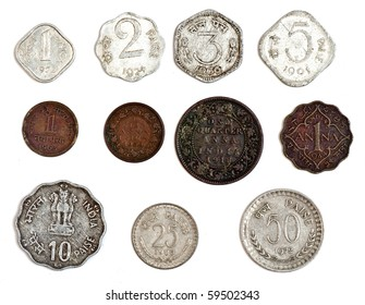 Indian Old Coins Images, Stock Photos & Vectors | Shutterstock