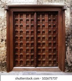 Antique Indian style Wooden Door