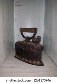 Antique iron in thailand