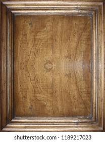 antique light  brown mende wooden door