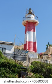 Antique lighthouse in old city of Jaffa