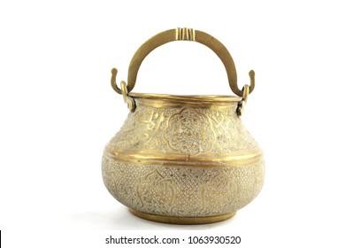 Antique Middle Eastern Bowl Pot