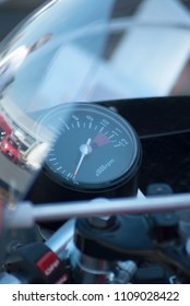 Antique motorcycle tachometer