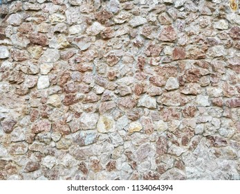Antique natural stonewall