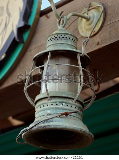 Antique Oil Lantern