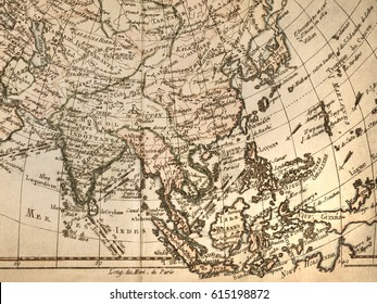 Asia old map stock photos images photography shutterstock antique old map asia publicscrutiny Gallery