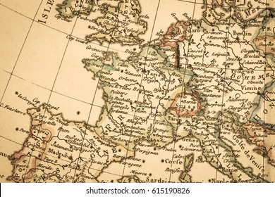 Old Map Of France.Old Map France Images Stock Photos Vectors Shutterstock