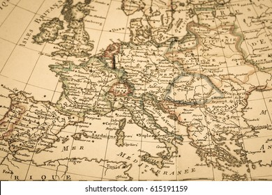 Italy spain greece images stock photos vectors shutterstock antique old map europe gumiabroncs