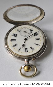 Antique old watch on a chain
