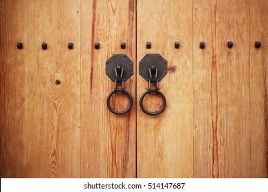 antique oriental door knocker