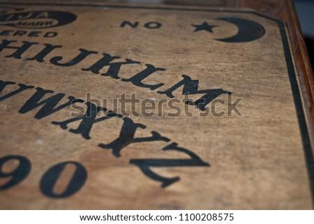 Antique Ouija Board Stock Photo Edit Now 1100208575 Shutterstock