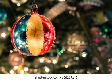 Antique Patriotic Ornament