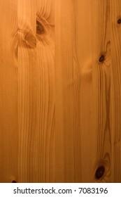 Antique pine wooden door panel