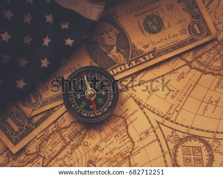 Pirate World Map.Antique Pirate World Map New Modern Stock Photo Edit Now 682712251