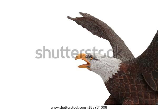 Antique  Porcelain Eagle.