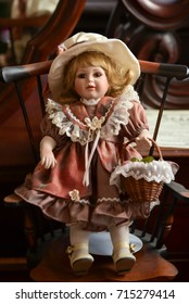 Antique Porcelain Girl Doll