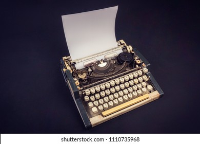 ff369b6b7b0 ANTIQUE RUSSIAN TYPEWRITER Old Vintage Russian Stock Photo (Edit Now ...