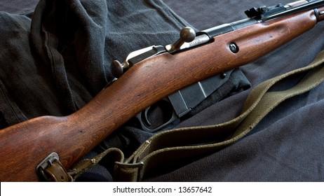 Antique Russian Mosin Rifle