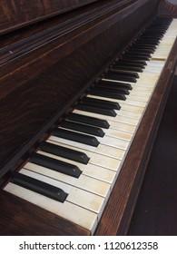 Antique Singer Upright Piano