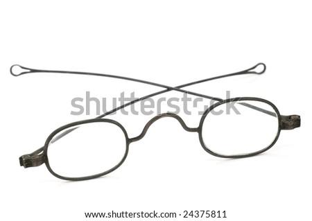 0b2c08e2fdb Antique Spectacles Stock Photo (Edit Now) 24375811 - Shutterstock. Antique  spectacles