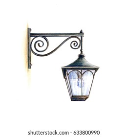 Antique street light.