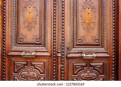 Antique style Wooden Door