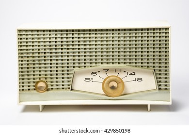 Antique table radio from the 1950's