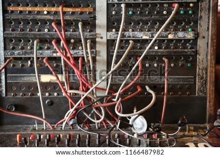 phone wiring board wiring diagram essig kellogg telephone wiring diagram antique telephone switch board vintage telephone stock photo (edit telephone plug wiring diagram phone wiring board