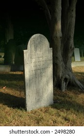 antique tombstone