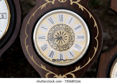 And antique vintage wall clock