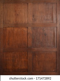 Antique wooden background.