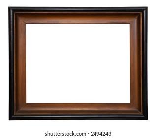 Antique wooden frame.