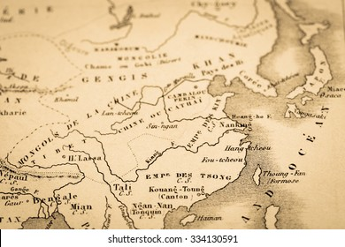 Ancient egypt colour map stock illustration 338422760 shutterstock antique world map east asia gumiabroncs Choice Image