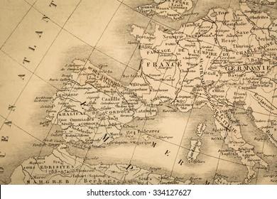 Mapas Europa Antiguos Stock Photos Images Photography
