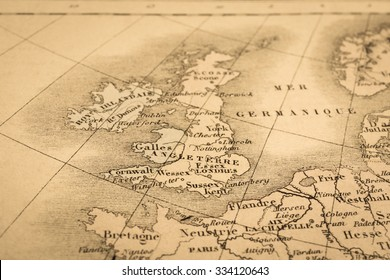 Old map england images stock photos vectors shutterstock antique world map united kingdom gumiabroncs Gallery