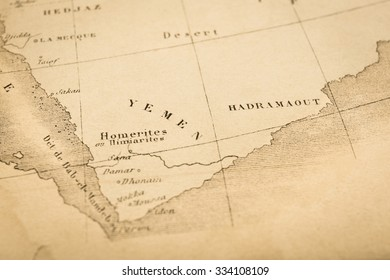 Gulf of Aden Map Stock Photos, Images & Photography ...